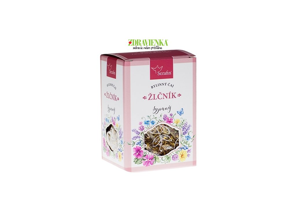 žlčník - sypaný bylinný čaj serafin