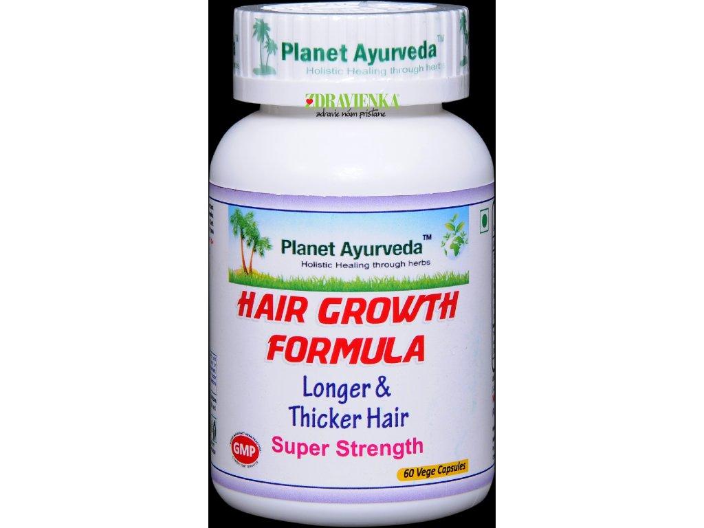 Hair Growth Formula kapsuly 500mg - Planet Ayurveda