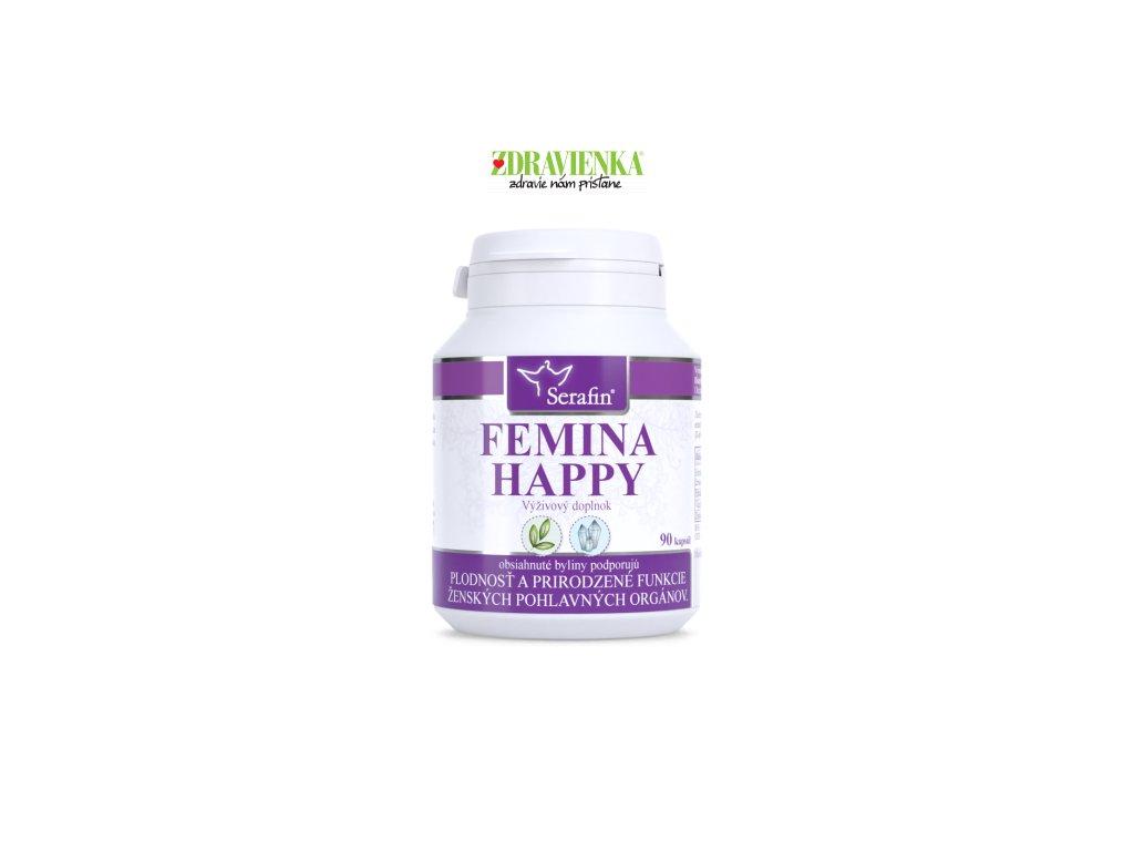 femina happy prírodné kapsuly Serafin | Zdravienka e-shop