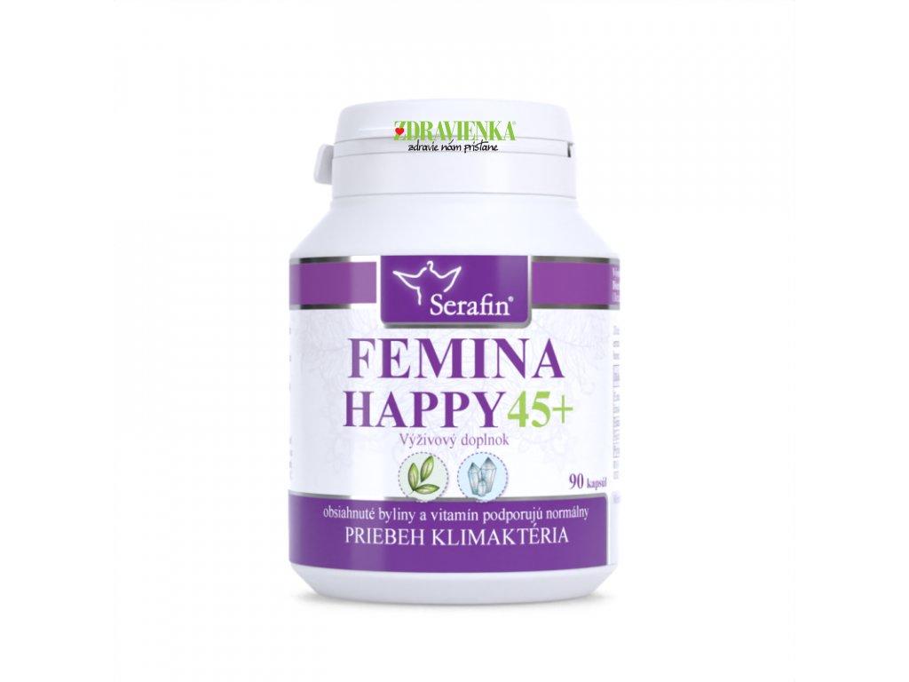 FEMINA HAPPY 45 prírodné kapsuly Serafin | Zdravienka e-shop