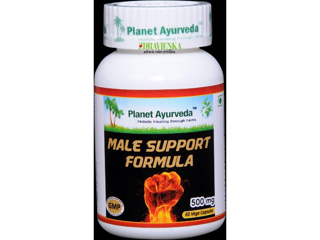 Male Support Formula kapsule 500mg Planet Ayurveda