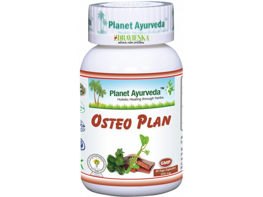 Osteo Plan kapsuly 500mg - Planet Ayurveda