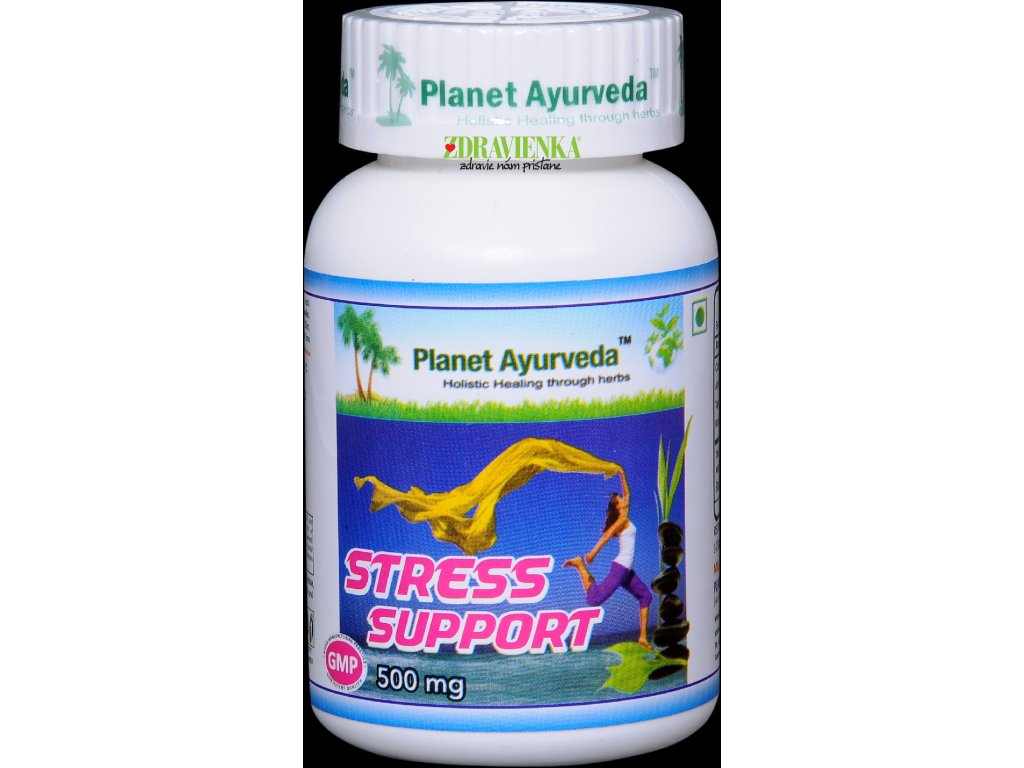 Stress Support kapsule 500mg - Planet Ayurveda