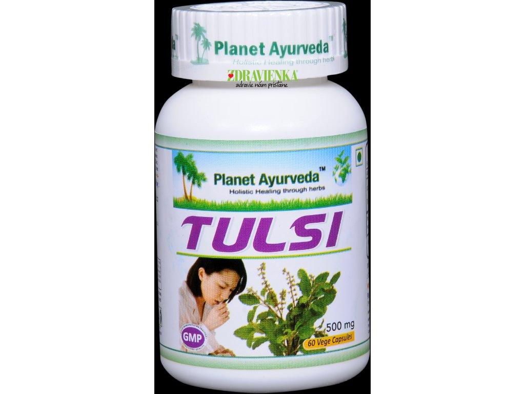 Tulsi Kapsuly 500 mg - Planet Ayurveda