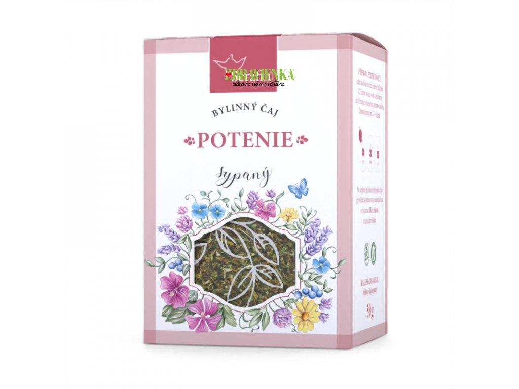 potenie - sypaný bylinný čaj serafin