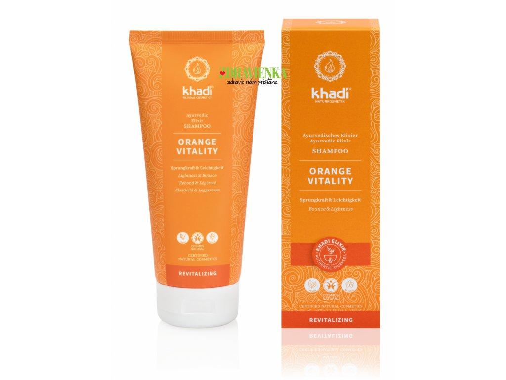 šampón orange vitallity - Khadi | Zdravienka e-shop