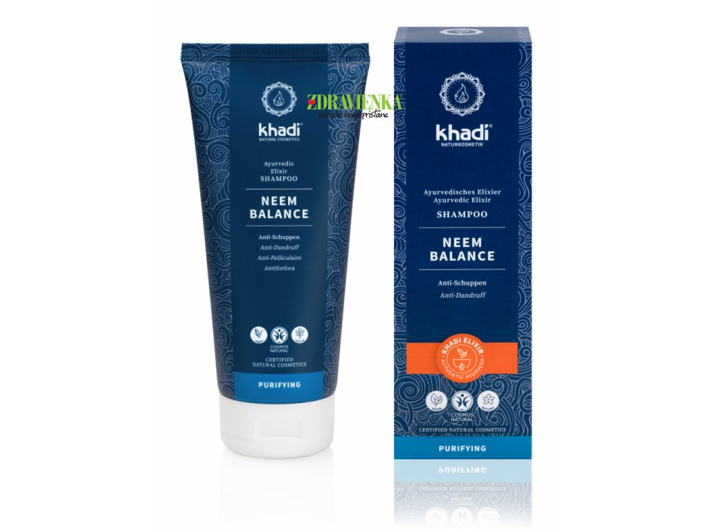 šampón neem balance - Khadi   Zdravienka e-shop