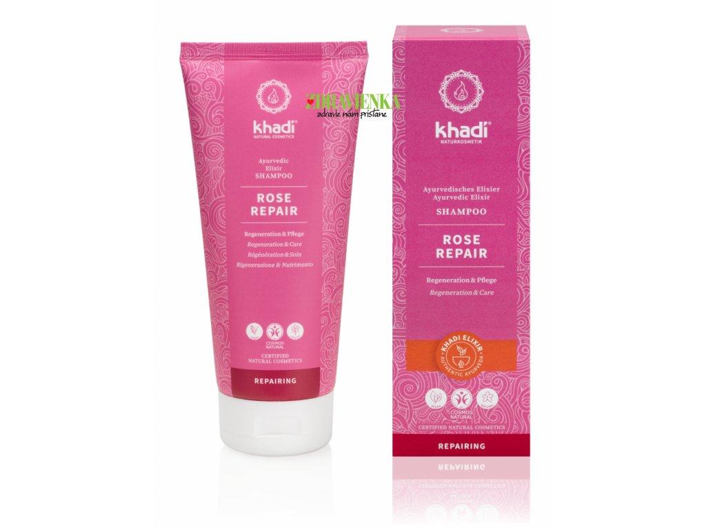 rose repair šampón - Khadi | Zdravienka e-shop