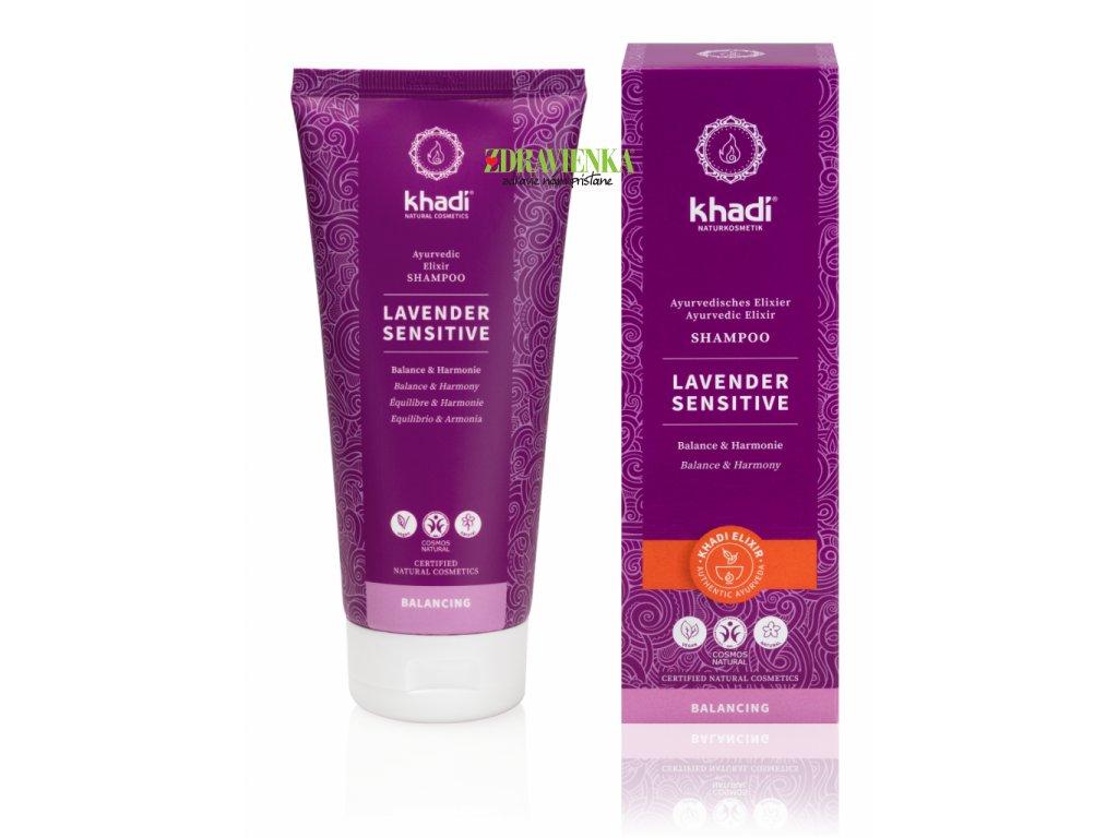 šampón levander sensitive - Khadi | Zdravienka e-shop