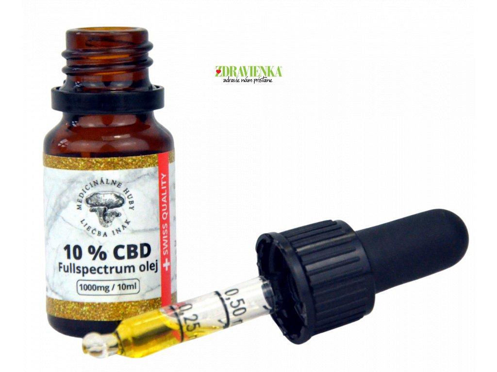 10 CBD v MCT oleji Full Spectrum 10 ml