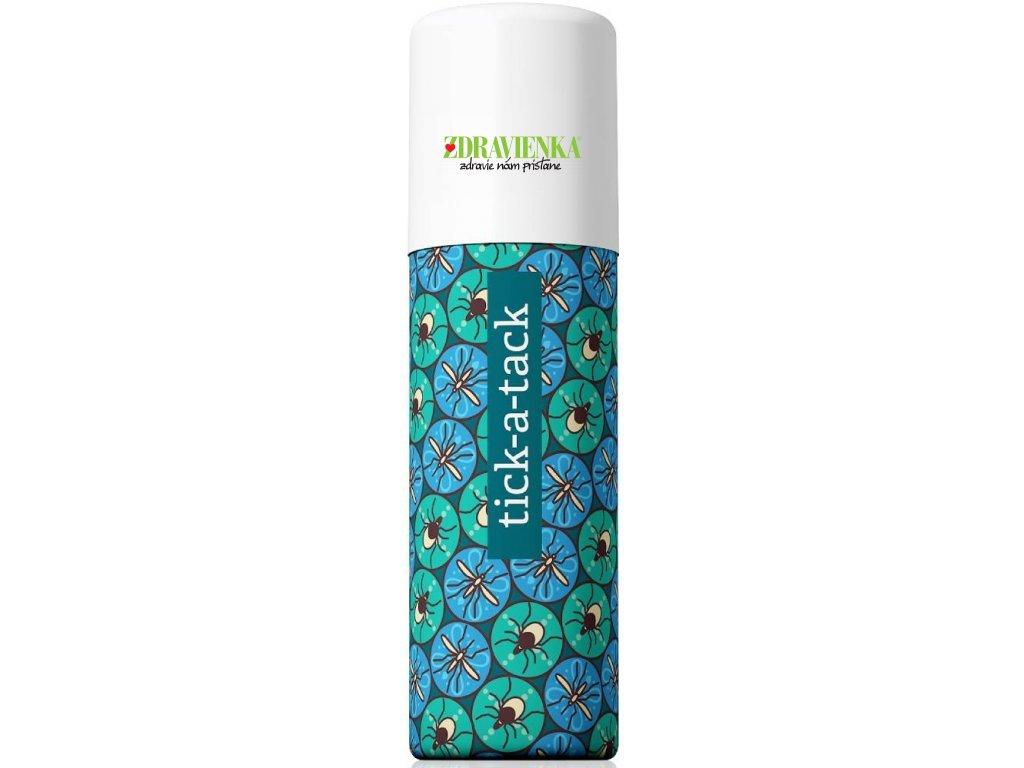 Repelent tick a tack energy 50 ml - Prirodzená ochrana pred komármi, kliešťami a iným hmyzom. Bez obsahu škodlivých chemikálií.