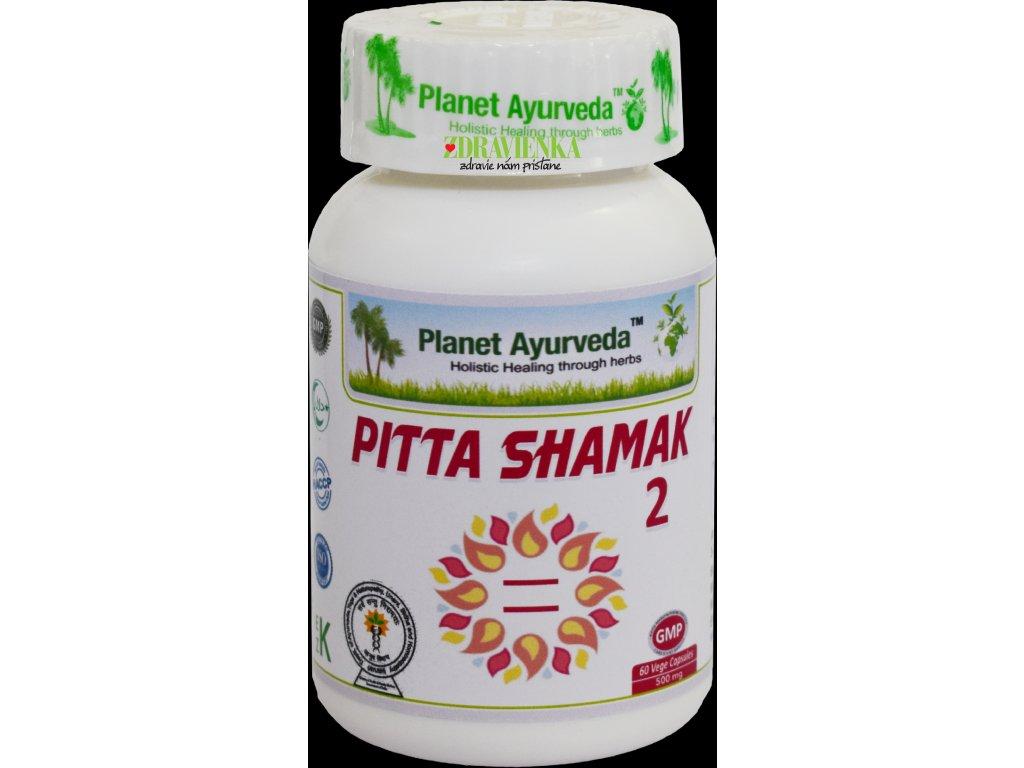 Pitta Shamak 2 kapsuly 500mg - Planet Ayurveda