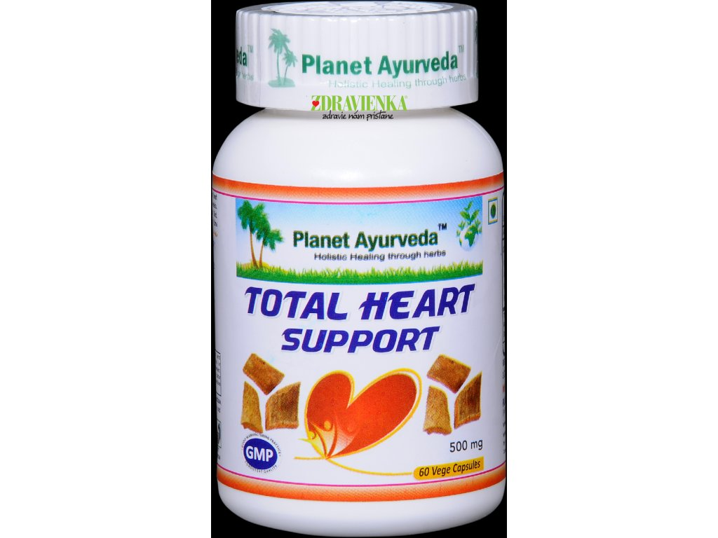 Total Heart Support kapsule 500mg - Planet Ayurveda