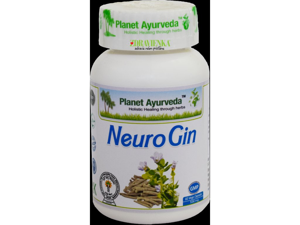 Neuro Gin kapsuly 500mg Planet Ayurveda