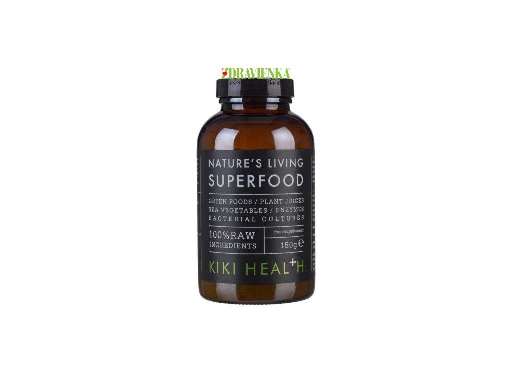 Kiki Health Nature's Living Superfood - Organic Blend 150g