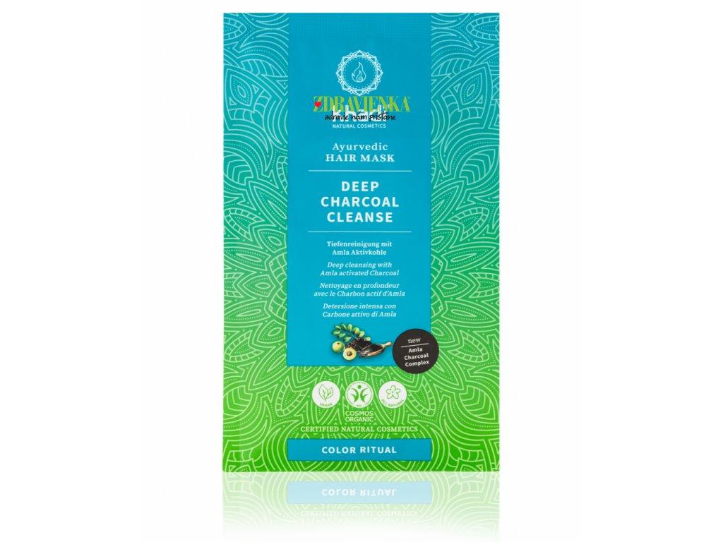 khadi vlasova maska hlbkove cistenie aktivnym uhlim - Khadi| Zdravienka e-shop