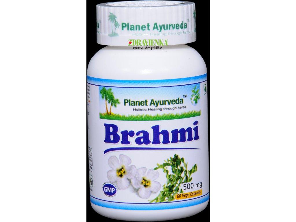 Brahmi kapsuly 500mg Planet Ayurveda
