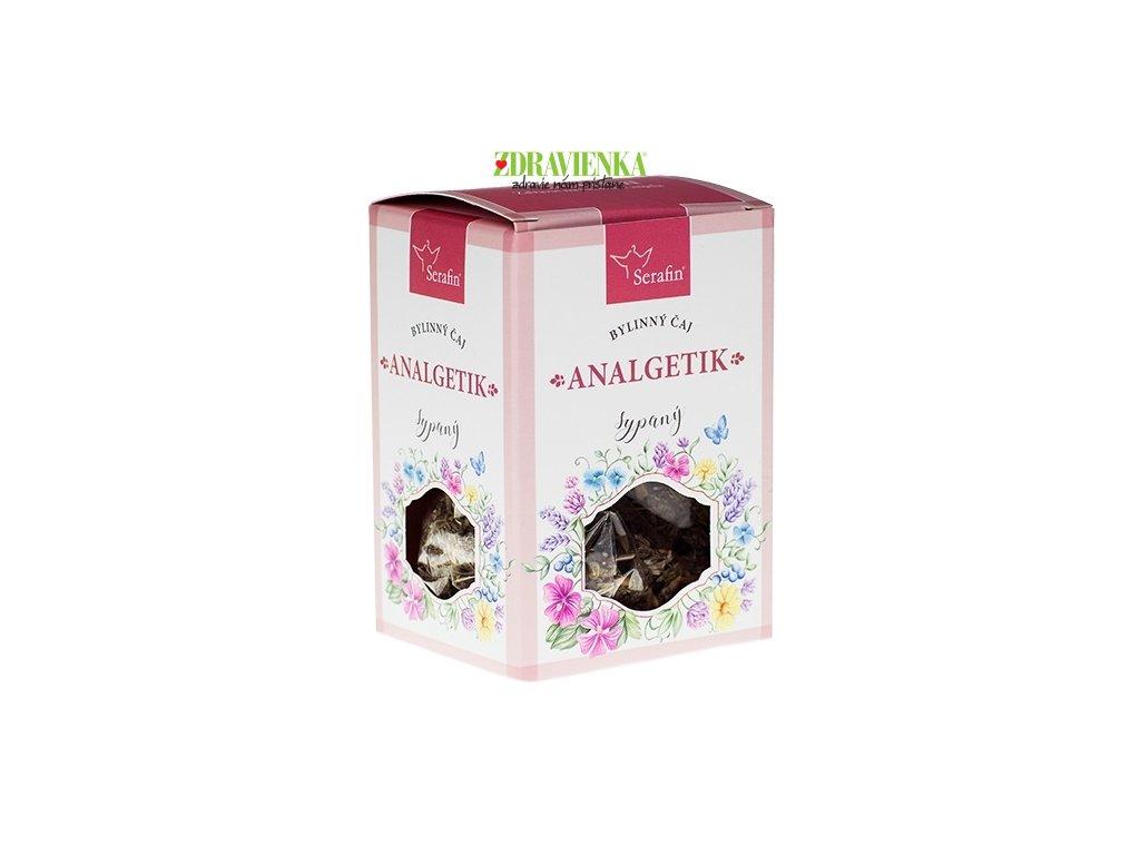 sypaný bylinný čaj analgetik serafin