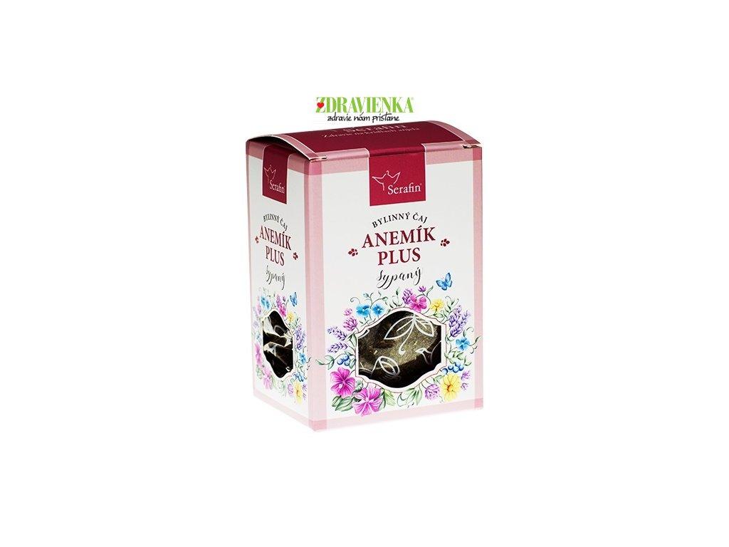 sypaný bylinný čaj anemik plus serafin