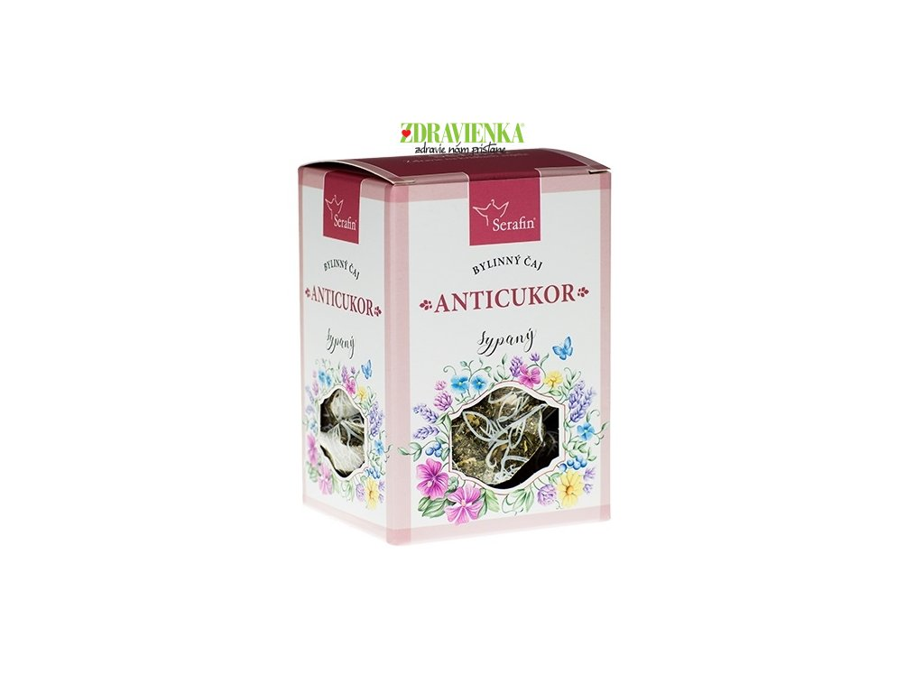sypaný bylinný čaj anticukor serafin