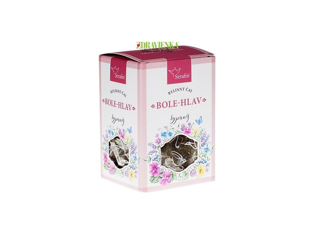 bolehlav sypaný bylinný čaj serafin