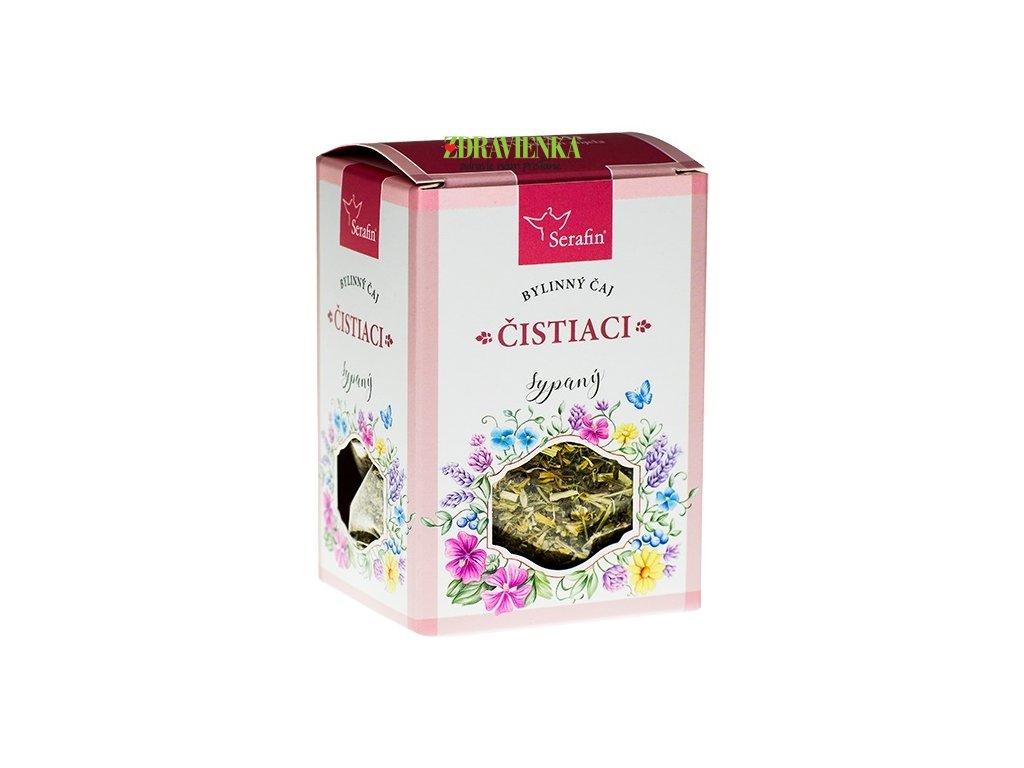 čistiaci sypaný bylinný čaj serafin