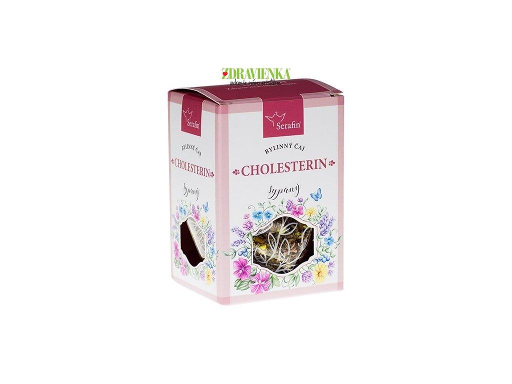 cholesterin - sypaný bylinný čaj serafin