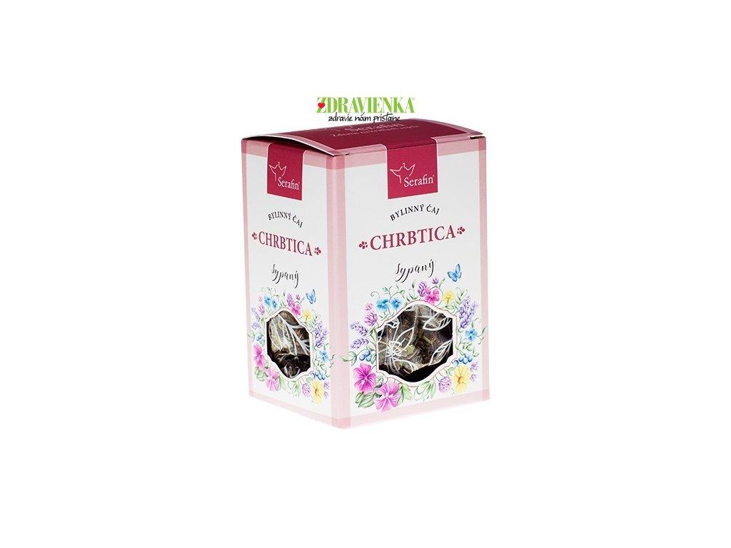 chrbtica  - sypaný bylinný čaj serafin