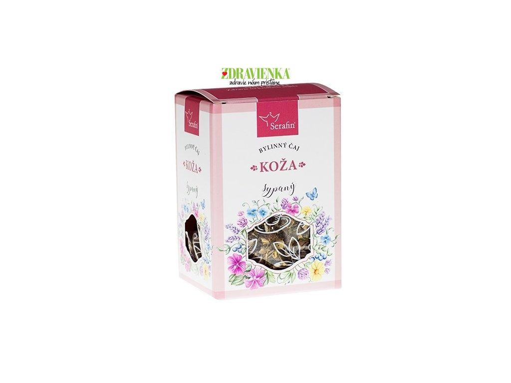 koža - sypaný bylinný čaj serafin