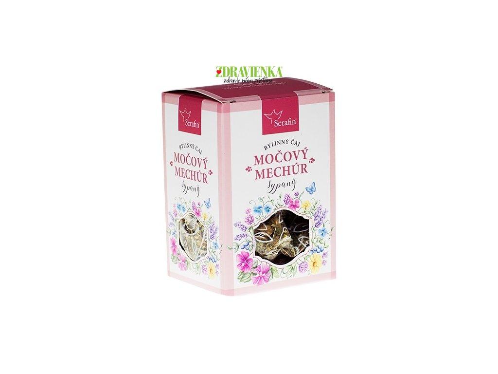 močový mechur - sypaný bylinný čaj serafin