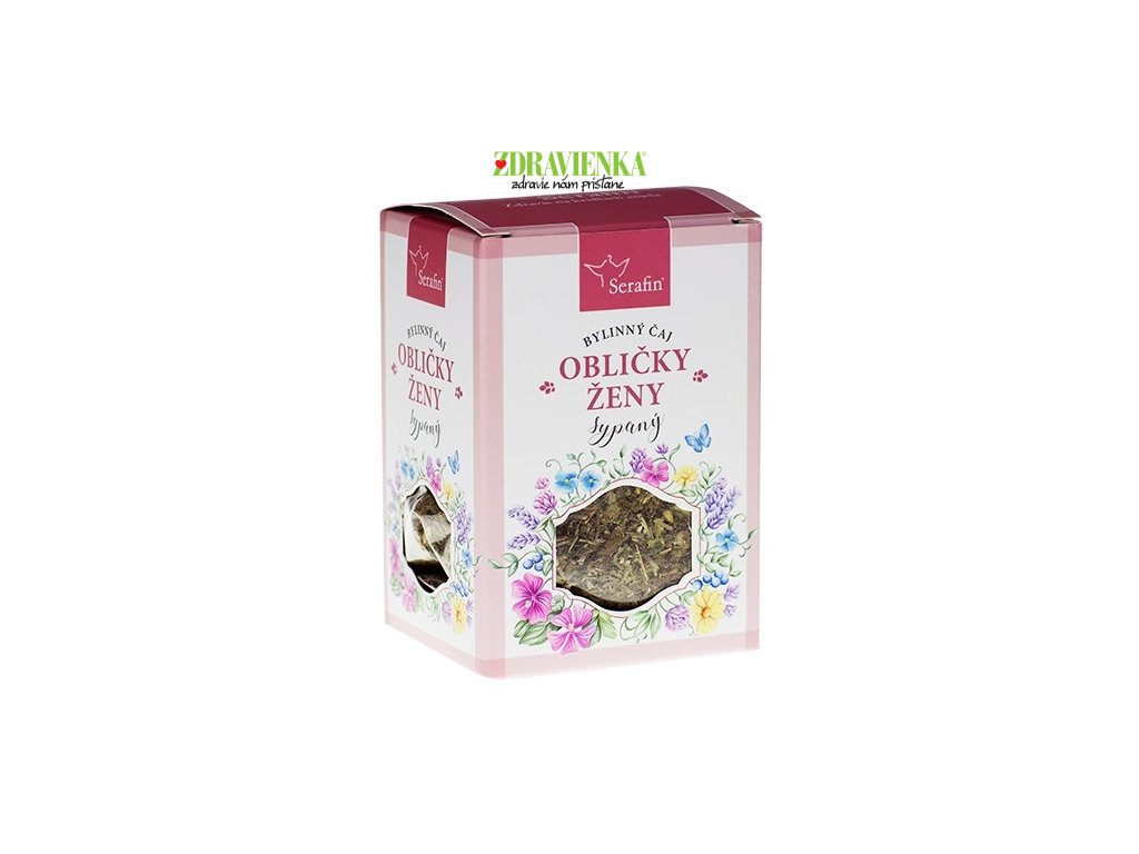 obličky ženy - sypaný bylinný čaj serafin