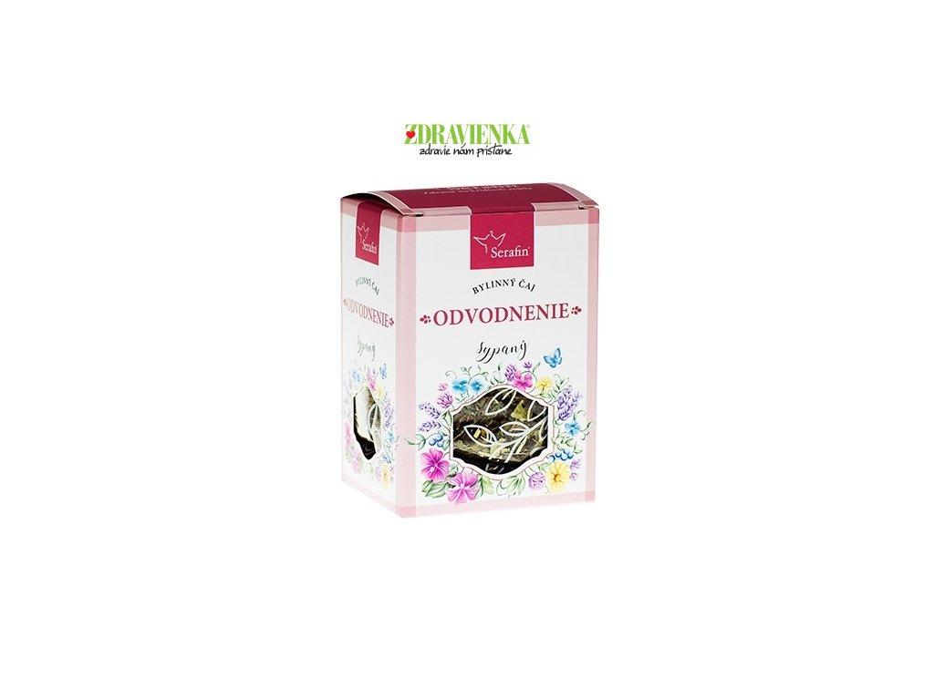 odvodnenie  - sypaný bylinný čaj serafin