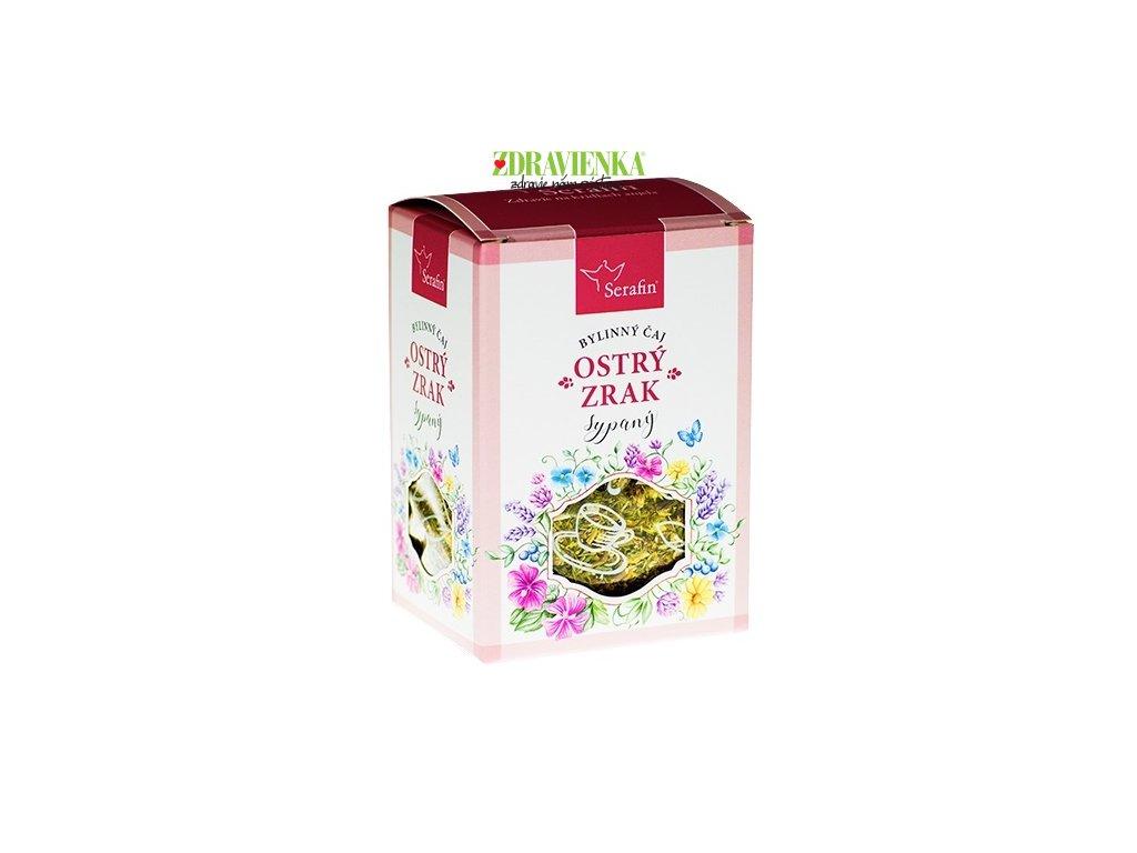 ostrý zrak - sypaný bylinný čaj serafin