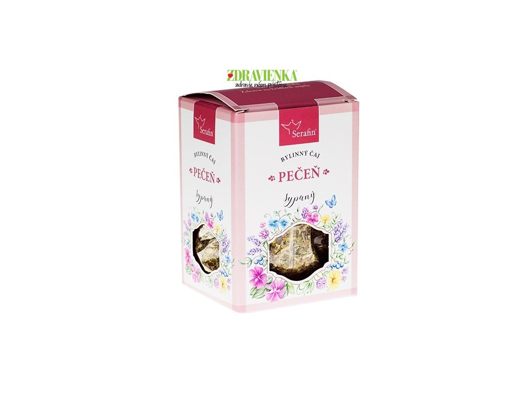 pečeň - sypaný bylinný čaj serafin
