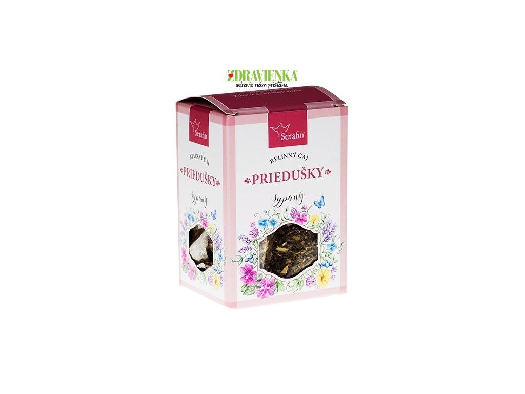 priedušky - sypaný bylinný čaj serafin