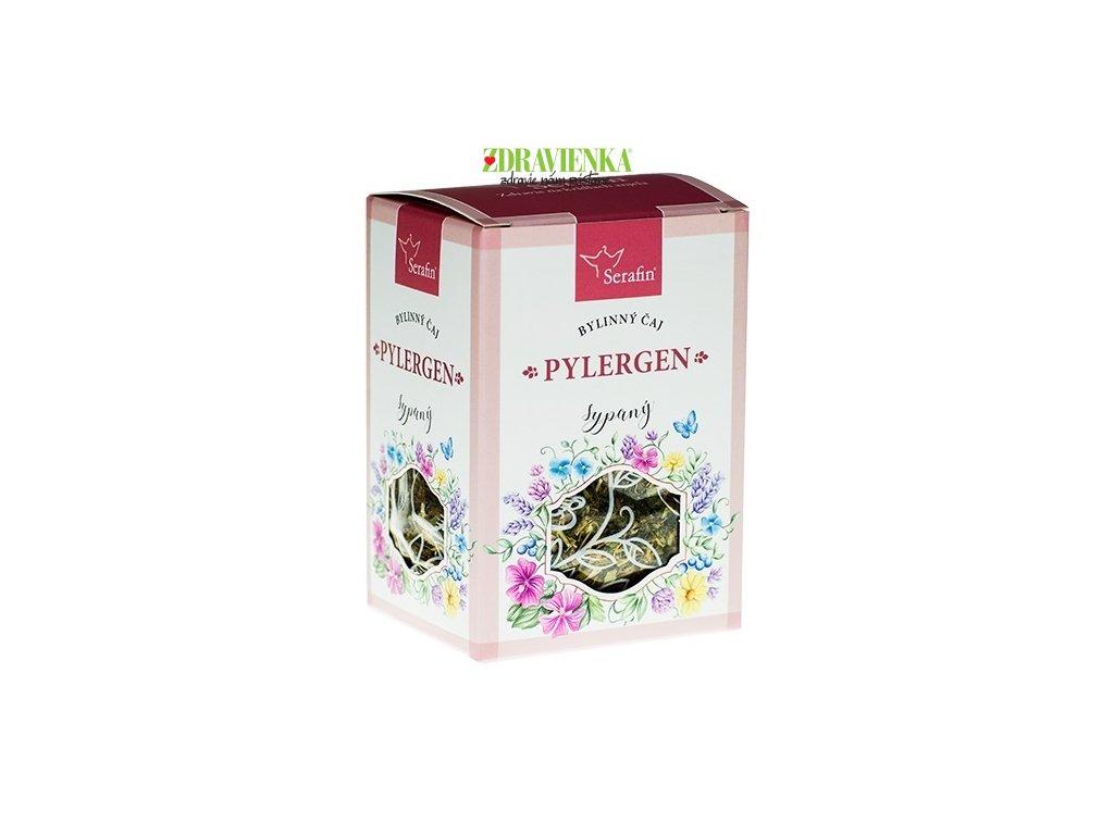 pylergen alebo alergie - sypaný bylinný čaj serafin