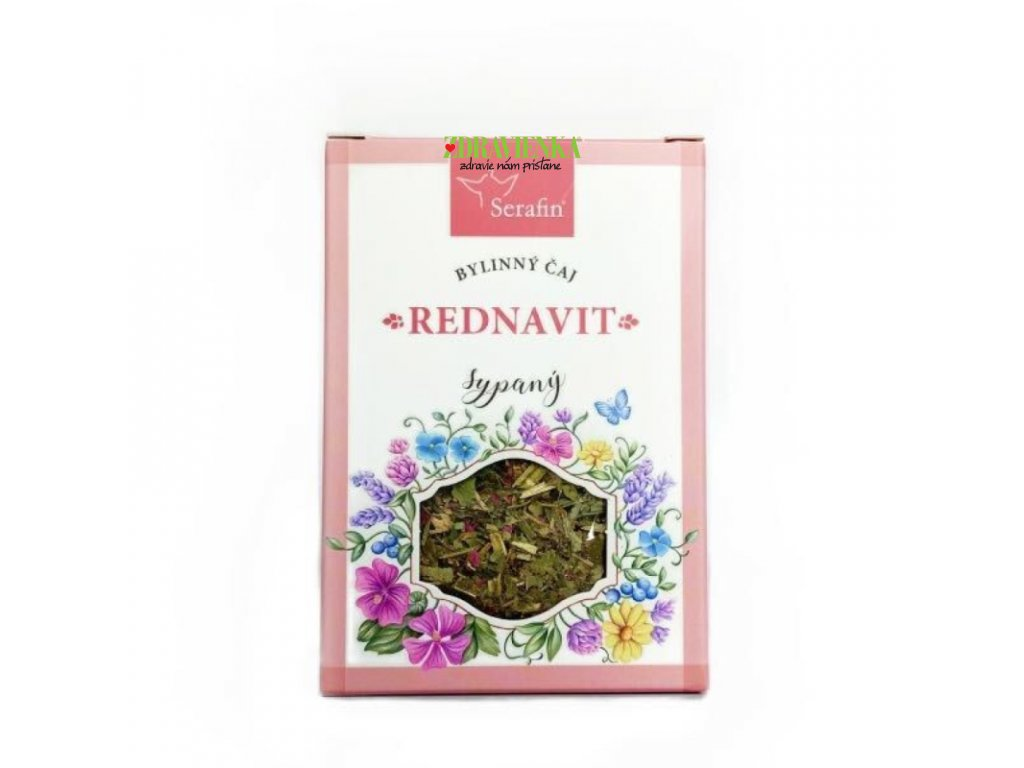 rednavit  - sypaný bylinný čaj serafin