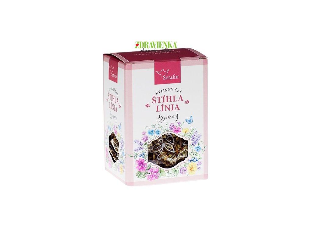 štíhla línia - sypaný bylinný čaj serafin