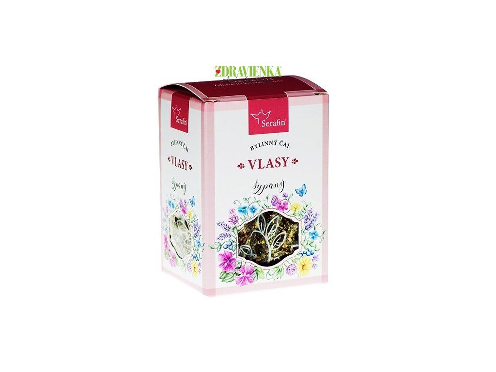 vlasy - sypaný bylinný čaj serafin