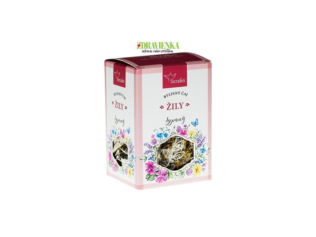 žily - sypaný bylinný čaj serafin