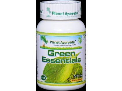 Green Essentials kapsuly 500mg - Planet Ayurveda