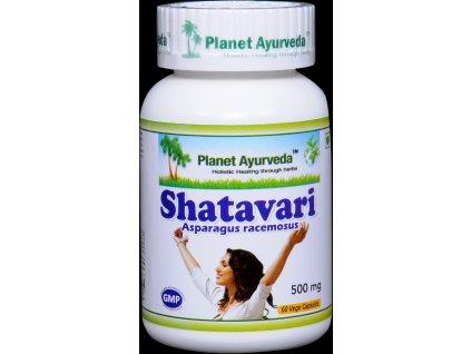 Shatavari kapsule 500mg - Planet Ayurveda