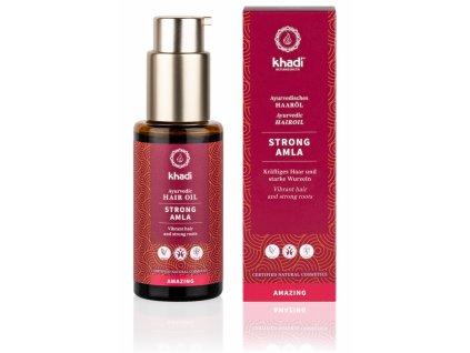 vlasový olej STRONG AMLA - Khadi | Zdravienka e-shop