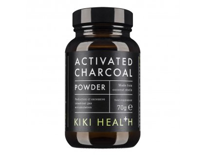 Kiki Health Activated Charcoal prášok 70g