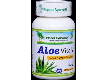 Aloe vitals kapsuly 500mg Planet Ayurveda