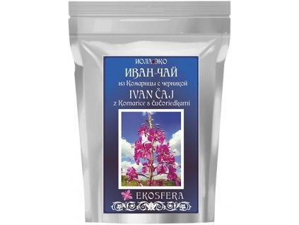 Ivan čaj s čučoriedkou na zníženie cukru v krvi, na trávenie, cievy a zrak | Ekosfera