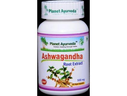 Ashwagandha kapsuly - Planet Ayurveda