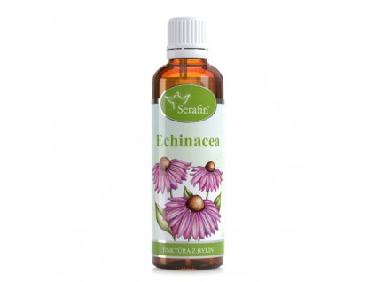 echinacea - Tinktúra z bylín Serafin | Zdravienka e-shop