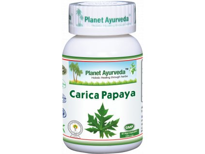 Carica Papaya 500mg Planet Ayurveda