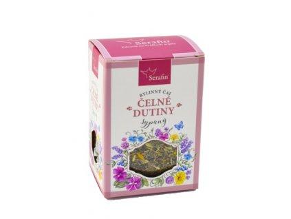 čelové dutiny sypaný bylinný čaj serafin